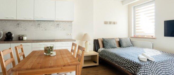 Dzīvot vienā istabā – kā ieplānot gultu studijas dzīvoklī