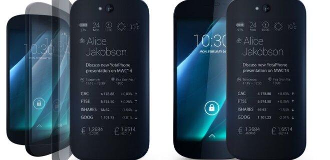 В Китае анонсировали российский смартфон YotaPhone 3