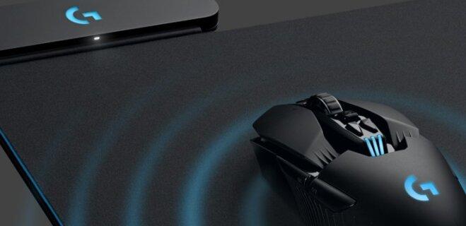 Компания Logitech выпустила коврик для мыши с функцией беспроводной зарядки