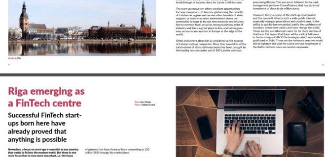 """В Латвии вышел первый номер журнала про стартапы """"Start in Latvia. Go Global"""""""