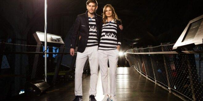 Модная, полосатая, твоя: Monton представил одежду эстонской олимпийской делегации в Рио — 2016