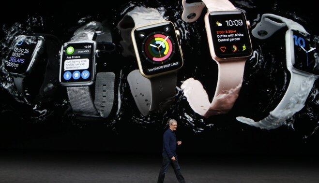 Apple представила второе поколение смарт-часов Watch с упором на фитнес