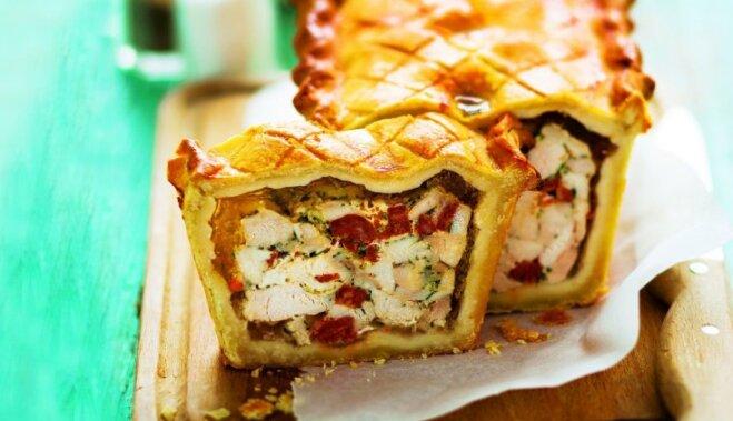 рецепт приготовления осетинского пирога с мясом видео