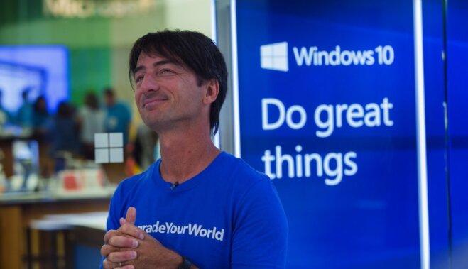 Jau katrs desmitais dators pasaulē darbojas ar 'Windows 10'