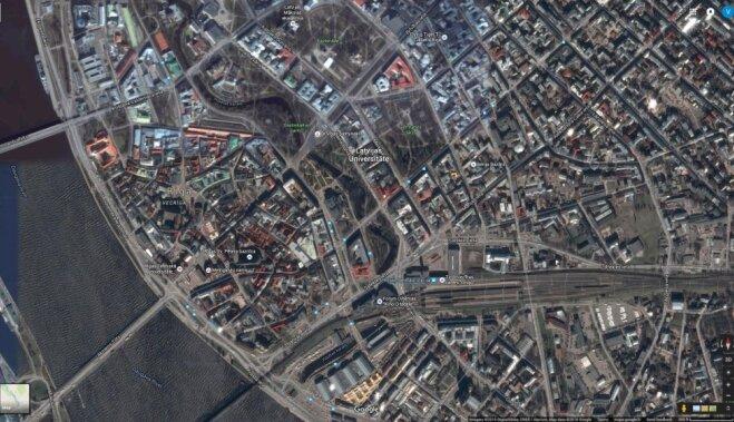 Palūkojies uz Rīgu no jauna: 'Google Maps' un 'Google Earth' piedāvā augstākas izšķirtspējas kartes