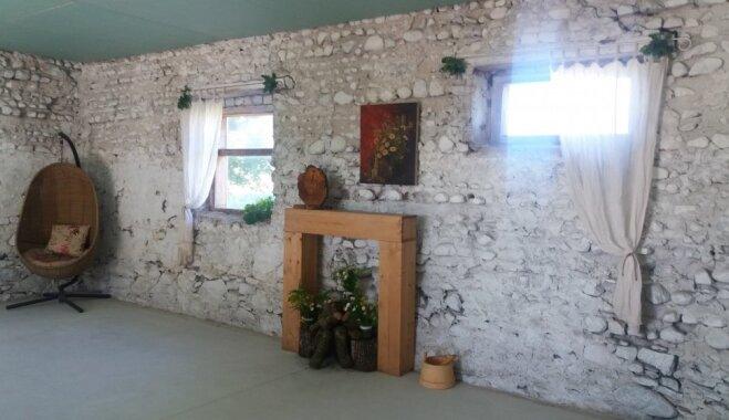 До и после: как семья редактора Delfi превратила старый хлев в место для праздников (ФОТО)