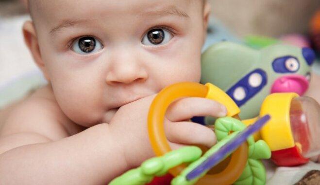 Kāpēc un cik daudz zīdainim vajag mantu; pareizākā rotaļlietu izvēle