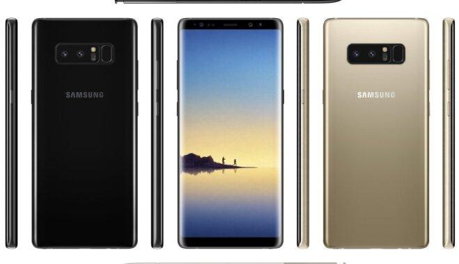 В Сети появилось изображение флагманского смартфона Samsung Galaxy Note 8