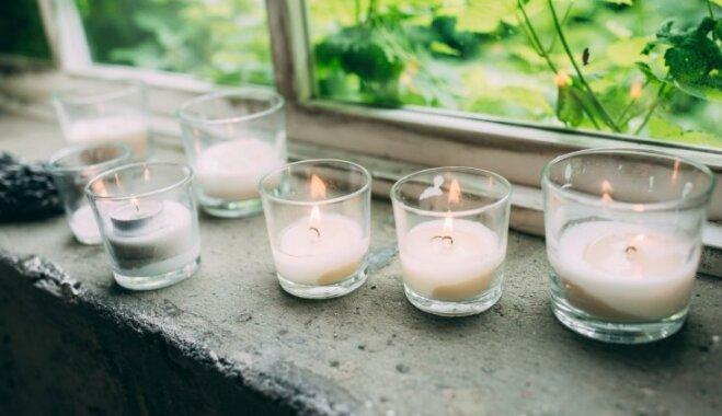 Ilgai un izteiksmīgai liesmai – ko ievērot sveču dedzināšanas sezonā