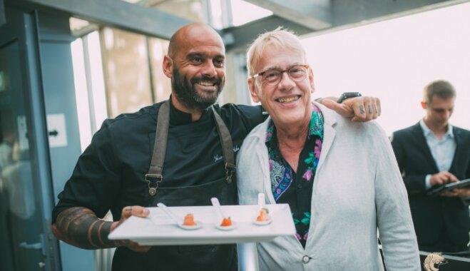 Foto: Leģendārā Roberta de Niro restorānu šefpavārs atklāj garšu festivālu Jūrmalā