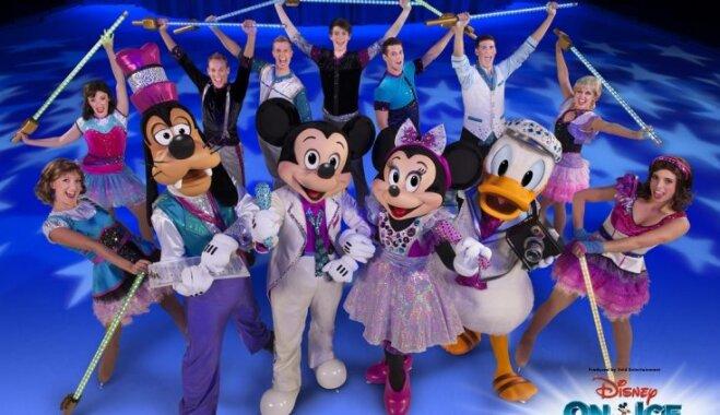 Sāksies biļešu tirdzniecība uz ledus festivālu 'Disney On Ice'