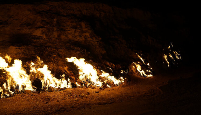 Огненная земля: вечные источники огня Азербайджана