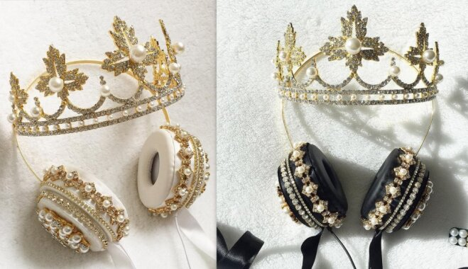 Justies kā karalienei: majestātiskas austiņas, kas piesaistīs uzmanību