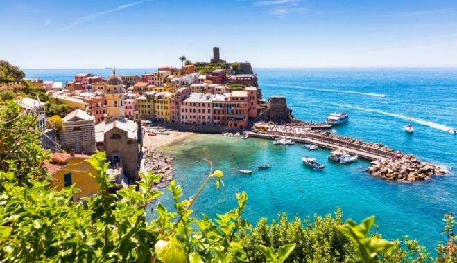 Septiņas pārsteidzošas vietas Itālijā, kurās ļauties piedzīvojumu baudai