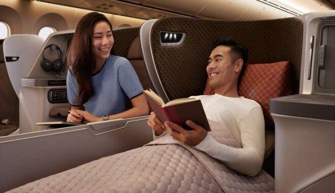 Foto: Kā izskatīsies jaunajā 'Singapore Airlines' lidmašīnā