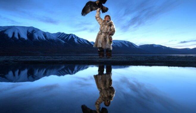Dienas ceļojuma foto: Pēdējie mongoļu mednieki un viņu pieradinātie ērgļi