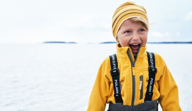 Kā ģērbt bērnu rudenī?