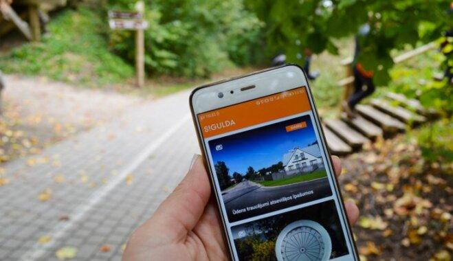 'Tūrisma Gids' izmēģina: mobilā lietotne zelta rudens baudīšanai Siguldā
