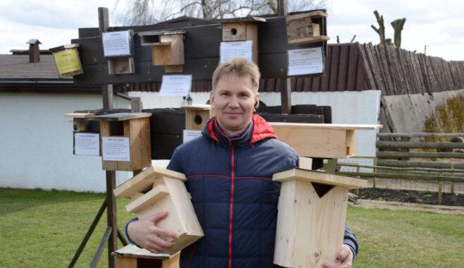 Rīgas zoodārza filiālē Kalvenē varēs izgatavot putnu būrīšus