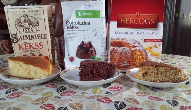 """Кексы и пироги """"из коробки"""". Как DELFI вслепую дегустировал готовые смеси"""