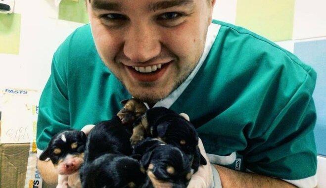 Cilvēkiem Latvijā trūkst uzticības ārstiem: topošais vetārsts Andris, kurš vēlējās būt aktieris