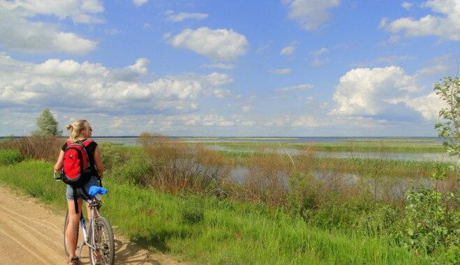 Aicina doties izbraucienā ar velosipēdu apkārt Lubāna ezeram