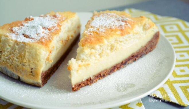 Maģiskā siera kūka