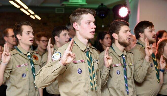 Tapusi dokumentāla filma par skautiem un gaidām Latvijā