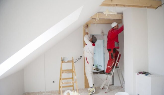 Mājokļa labiekārtošanas darbi, kurus labāk uzticēt profesionāļiem