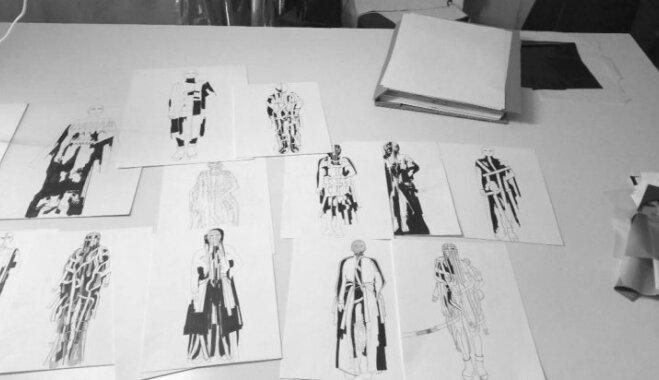 Uzdrošināties mēģināt, pat nenojaušot rezultātu: talantīgās mākslinieces Evijas soļi modes pasaulē