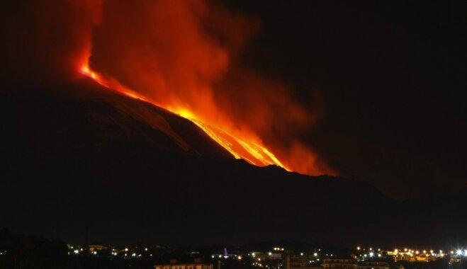 Brīnišķīgas vietas, ko aprakuši vulkāni