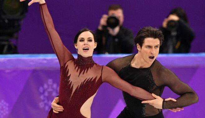 Канадцы с мировым рекордом стали двукратными чемпионами Игр в танцах на льду