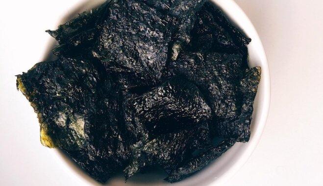 Ideja suši mīļotājiem: kā no nori lapām pagatavot kraukšķīgus un veselīgus čipsus