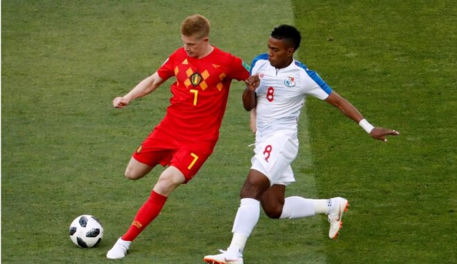 Beļģija otrajā puslaikā gūst trīs skaistus vārtus un pieveic PK debitanti Panamu