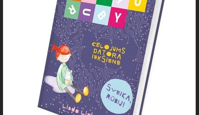 Bērniem domātā gāmatā par programmēšanu skaidro, kas atrodas datoram 'vēderā'