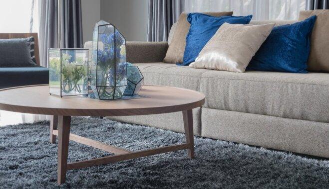 Gaumīgas idejas, kā interjerā iekļaut apaļas mēbeles un priekšmetus