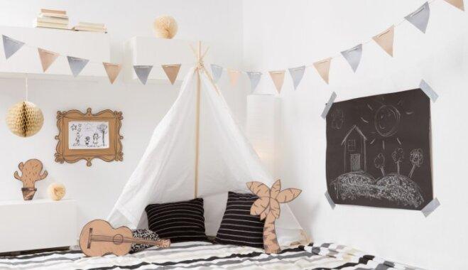 Foto idejas, kā iekārtot kičīgu bērnistabu