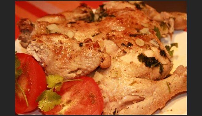 Чкмерули - курица по-грузински