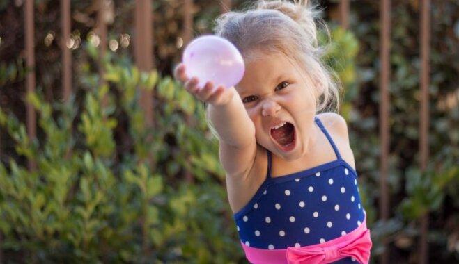 Skolēns iesaka: spēles ar baloniem un ātrrāpošana rotaļīgām vasaras dienām