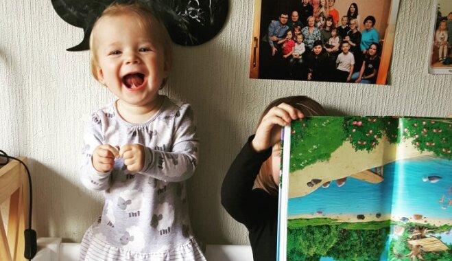 Bērna pirmās dienas ar aukli. Mazās Billes pieredze viņas mammas acīm