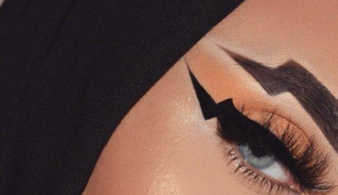 Брови-молнии: новый тренд или очередная блажь визажистов?