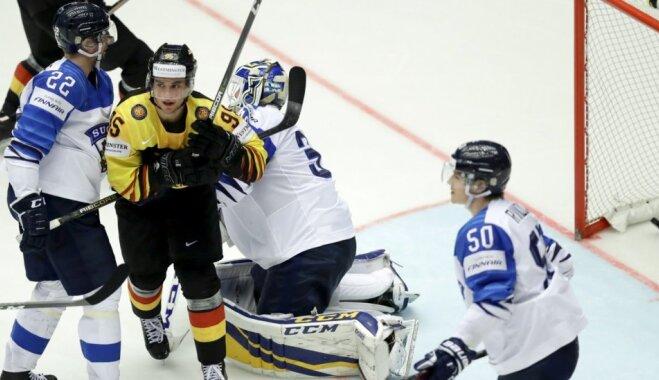 Германия сенсационно обыграла Финляндию, но утратила шансы на плей-офф