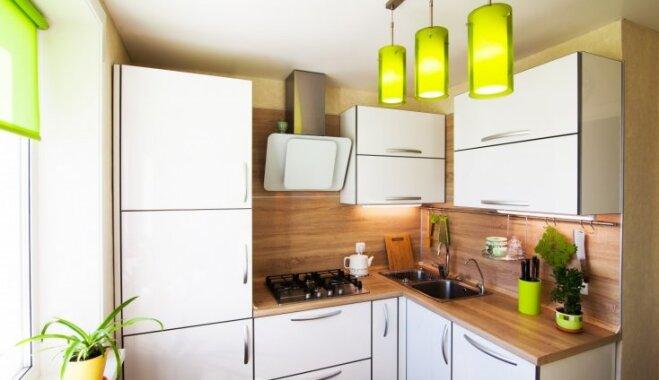 Iedzīve dažos kvadrātmetros – padomu izlase mazas virtuves iekārtošanai