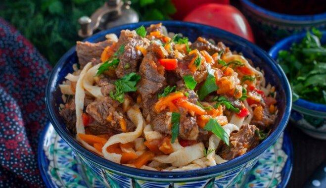 Лагман. Как приготовить сытный узбекский суп в лучших традициях