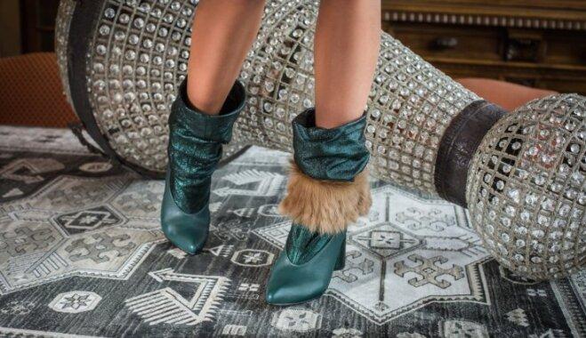 Foto: Pašmāju apavu zīmola 'SAZ' jaunā kolekcija ar lapsas motīviem
