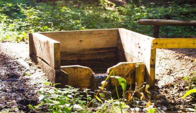 Brīvdienu maršruts: avotu un peldēšanās tūre Baldonē