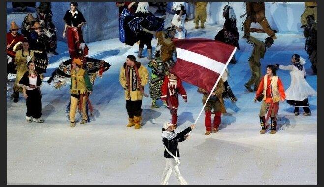 Latvijas delegācija atklāšanas parādē dosies 39. no 88 komandām