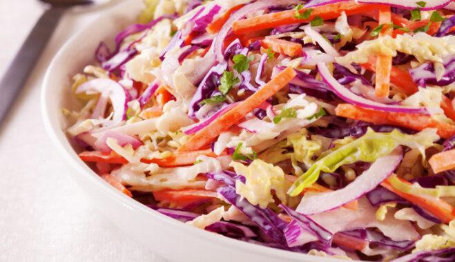 Veselības salātu recepte