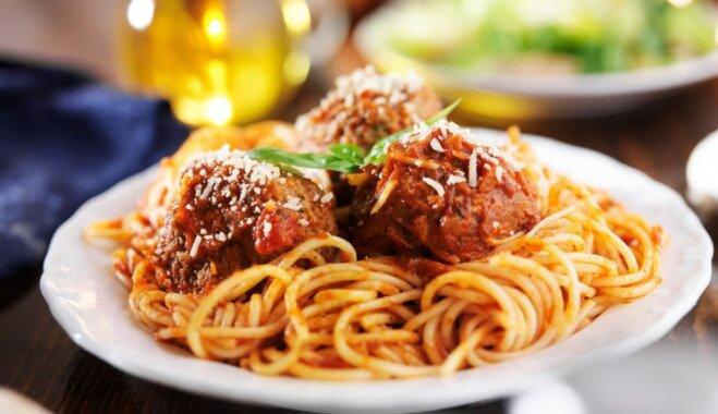 Svinēt dzīvi itāliski jeb Ducis ideju spageti dienai