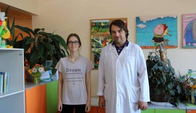 Bērnu slimnīcā veikta Latvijai unikāla sirds operācija